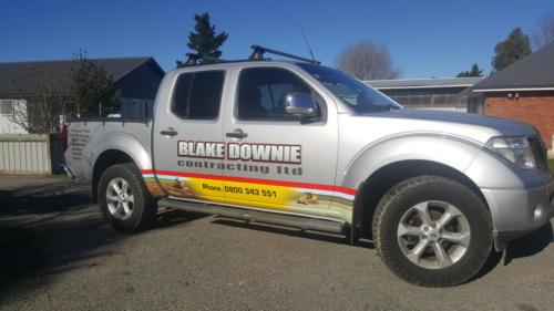 Geraldine_Signs-Blake_Downie_Contracting_Ltd-Ute