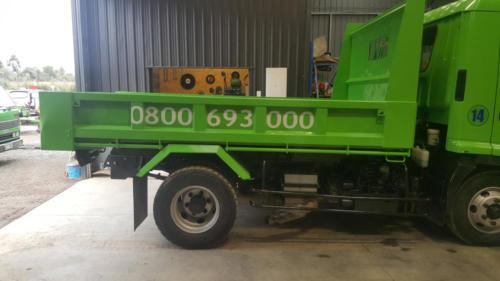 Geraldine_Signs-Earthworks_Aoraki-Truck2