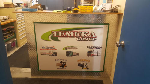 Geraldine_Signs-Temuka_Transport-Desk_Sign