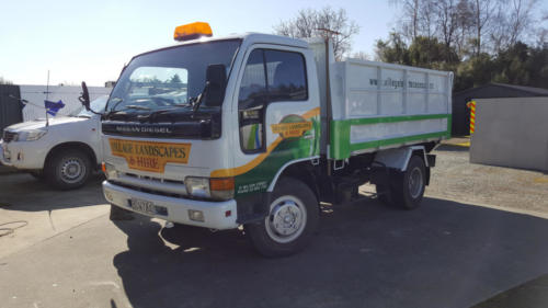 Geraldine_Signs-Village_Landscapes_&_Hire-Truck