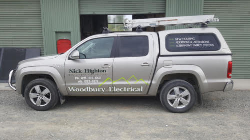 Geraldine_Signs-Woodbury_Electrical-Ute